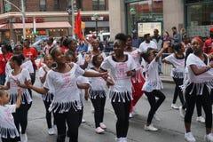 Le défilé 14 de danse de 2015 NYC Images stock