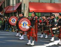 Le défilé de jour de Patrick de saint Image libre de droits