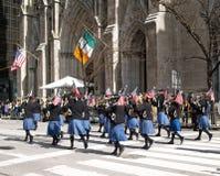 Le défilé de jour de rue Patrick Image stock