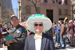 Le défilé 4 de 2014 NYC Pâques Image libre de droits