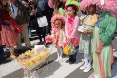 Le défilé 6 de 2014 NYC Pâques Photo stock