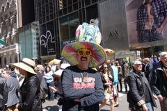 Le défilé 11 de 2014 NYC Pâques Images libres de droits