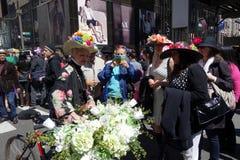 Le défilé 13 de 2014 NYC Pâques Image libre de droits