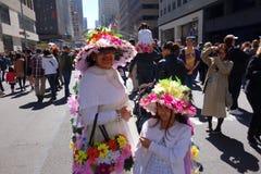 Le défilé 22 de 2014 NYC Pâques Image stock