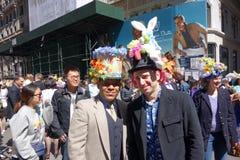 Le défilé 24 de 2014 NYC Pâques Images libres de droits