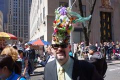 Le défilé 25 de 2014 NYC Pâques Image libre de droits