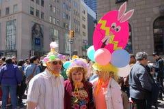 Le défilé 28 de 2014 NYC Pâques Photographie stock