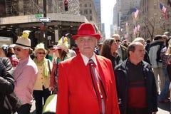 Le défilé 31 de 2014 NYC Pâques Image stock