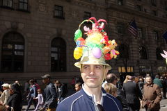 Le défilé 35 de 2014 NYC Pâques Photo libre de droits
