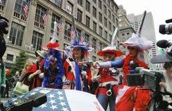 Le défilé de Pâques sur la 5ème avenue à New York City Images libres de droits