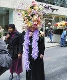 Le défilé de Pâques sur la 5ème avenue à New York City Images stock