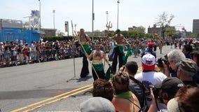 Le défilé 2013 de sirène de Coney Island 1 Image stock