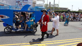 Le défilé 2013 de sirène de Coney Island 13 Photos libres de droits