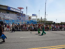 Le défilé 2013 de sirène de Coney Island 82 Image libre de droits