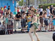Le défilé 2013 de sirène de Coney Island 83 Images libres de droits