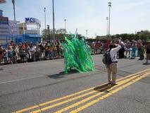 Le défilé 2013 de sirène de Coney Island 110 Image libre de droits