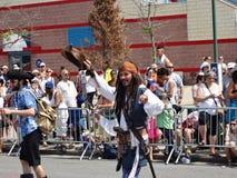Le défilé 2013 de sirène de Coney Island 127 Photo libre de droits