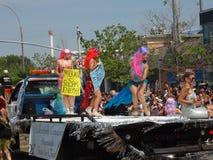 Le défilé 2013 de sirène de Coney Island 135 Photographie stock
