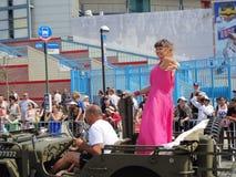 Le défilé 2013 de sirène de Coney Island 139 Photo libre de droits