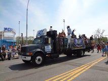 Le défilé 2013 de sirène de Coney Island 141 Images libres de droits