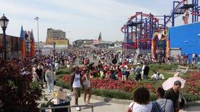 Le défilé 2013 de sirène de Coney Island 143 Images libres de droits