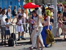 Le défilé 2013 de sirène de Coney Island 152 Photographie stock
