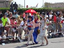 Le défilé 2013 de sirène de Coney Island 168 Image stock