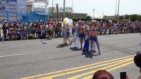 Le défilé 2013 de sirène de Coney Island 177 Images libres de droits