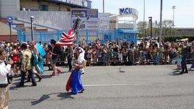 Le défilé 2013 de sirène de Coney Island 182 Photo stock