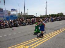 Le défilé 2013 de sirène de Coney Island 183 Images libres de droits