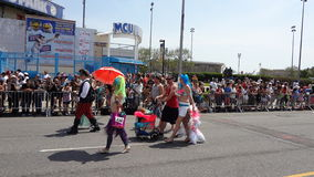 Le défilé 2013 de sirène de Coney Island 202 Image stock