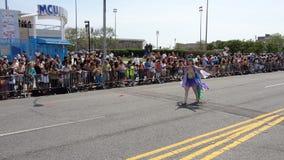 Le défilé 2013 de sirène de Coney Island 5 Photo libre de droits
