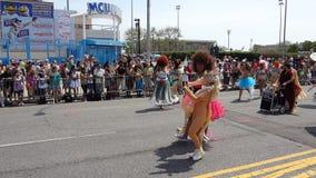 Le défilé 2013 de sirène de Coney Island 210 Images libres de droits