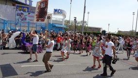 Le défilé 2013 de sirène de Coney Island 213 Image libre de droits