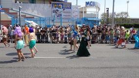 Le défilé 2013 de sirène de Coney Island 214 Photographie stock libre de droits