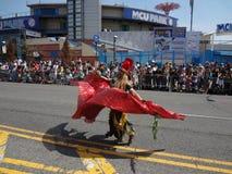 Le défilé 2013 de sirène de Coney Island 221 Images stock
