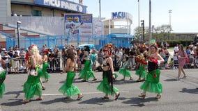 Le défilé 2013 de sirène de Coney Island 227 Images stock