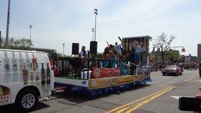 Le défilé 2013 de sirène de Coney Island 237 Images libres de droits