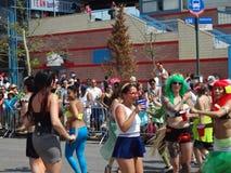 Le défilé 2013 de sirène de Coney Island 240 Images libres de droits