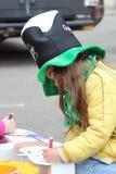 Défilé du jour de St Patrick Image stock