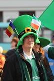 Défilé du jour de St Patrick Images libres de droits