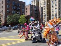 Le défilé 2016 dominicain de jour de Bronx 4 photos stock