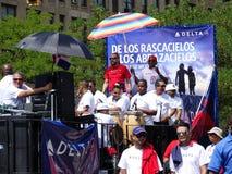 Le défilé 2016 dominicain de jour de Bronx 55 photographie stock
