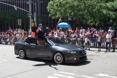Le défilé dominicain 14 de jour de 2015 NYC Image stock