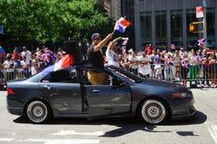 Le défilé dominicain 17 de jour de 2015 NYC Images libres de droits