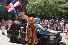 Le défilé dominicain 22 de jour de 2015 NYC Image stock