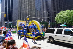 Le défilé dominicain 23 de jour de 2015 NYC Photo libre de droits