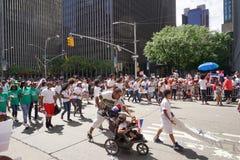 Le défilé dominicain 26 de jour de 2015 NYC Image stock