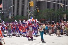 Le défilé dominicain 27 de jour de 2015 NYC Photos stock