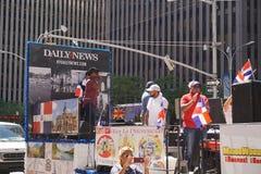 Le défilé dominicain 34 de jour de 2015 NYC Photographie stock